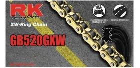 RK reťaz GB520GXW / článok - zlatá