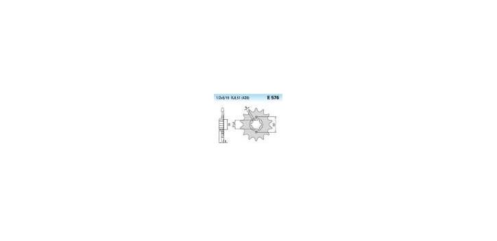 Chiaravalli - CaratCHI Ritzel 576-19 Zahne K (428-1-2x5-16)
