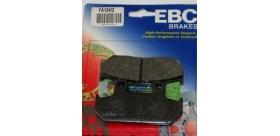 EBC brzdové platničky Standard FA124-2