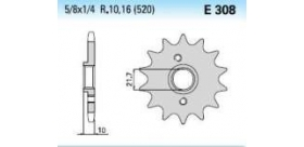 Chiaravalli - Carat sekundár 308-14 zubov K (520-5-8x1-4)