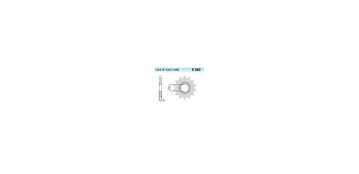 Chiaravalli - CaratCHI Ritzel 582-19 Zahne K (428-1-2x5-16)