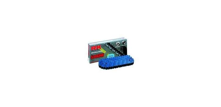 RK reťaz 530GXW / článok - neónovo modrá