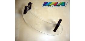 MRA Variotouring - deflektor VTA1 číry, tónovaný dĺžka 28cm vzdialenosť otvorov 23cm