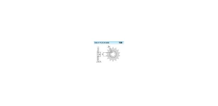 Chiaravalli - CaratCHI Ritzel 728-15 Zahne K (520-5-8x1-4)