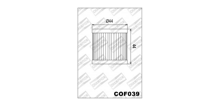 Champion olejový filter X345