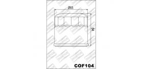 Champion olejový filter COF104 (F308,HF204,KN204,OC575)
