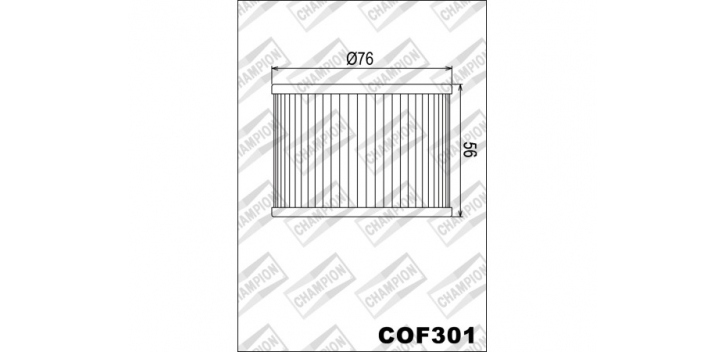 Champion olejový filter X303 - pozri X321