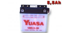 batéria Yuasa 12N5.5-3B