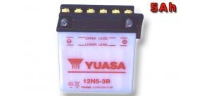 batéria Yuasa 12N5-3B (pozri tiež YB5L-B)