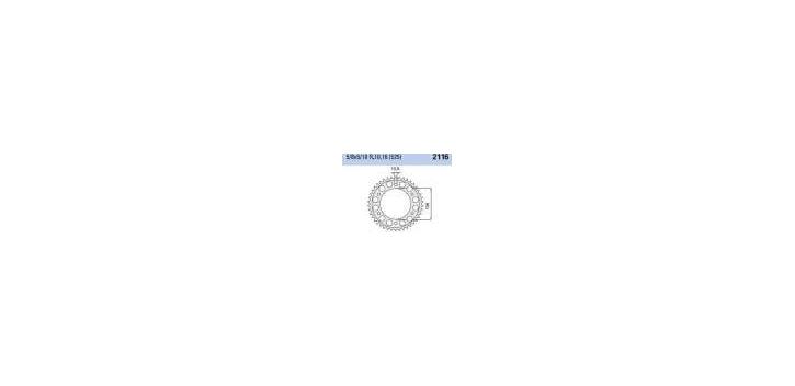 Chiaravalli - CaratCHI Zahnkranz 2116-48 Zahne THF (525-5-8x5-16)