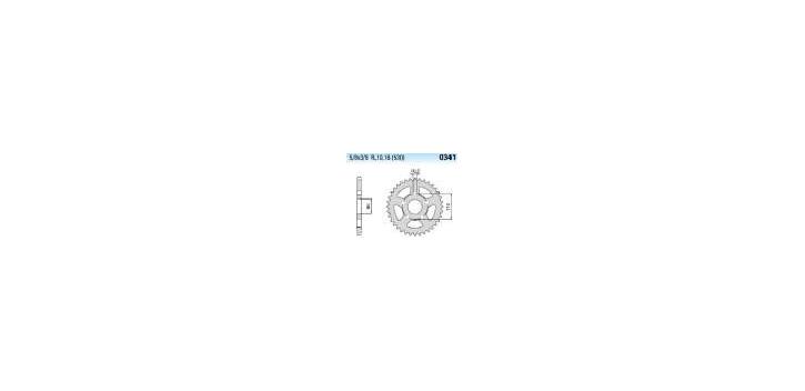 Chiaravalli - CaratCHI Zahnkranz 341-45 Zahne (530-5-8x3-8)