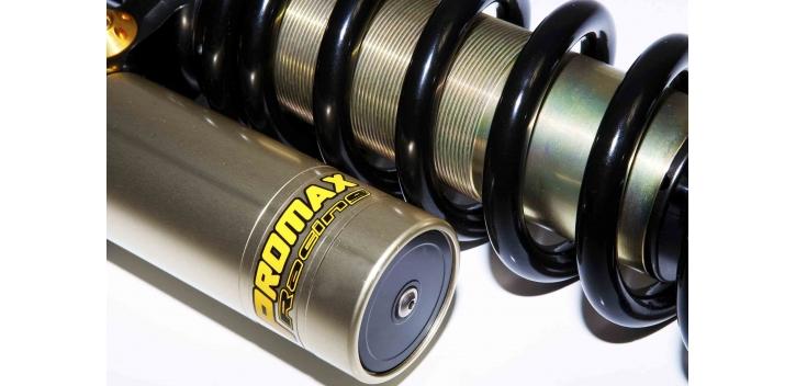 zadný MX tlmič Promax s lineárnou pružinou HONDA CRF 450 SM 09-11 harder