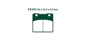 EBCEBC Bremsklatze Standard FA103