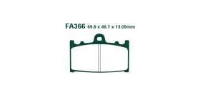 EBCEBC Bremsklatze Standard FA366